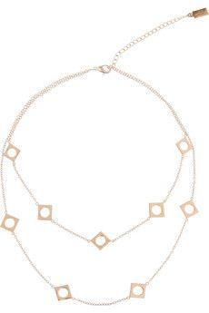 Arme De L'Amour Rose gold-plated necklace | NET-A-PORTER