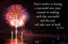 Commit to a Successful New Year!