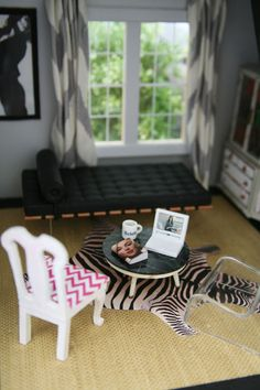 """""""lonny"""" dollhouse - curbed's """"operation dollhouse""""  Note to Mommy: Mimi loves this realistic look... and so do I! Can't wait for the dollhouse :)"""