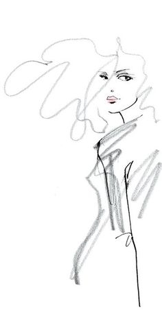 Lovisa Burfitt. Fashion illustration on Artluxe Designs. #artluxedesigns