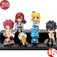 Find More Action & Toy Figures Information about New 6 PCS Fairy Tail Natsu Happy Lucy Gray Elza Mini Size 3.2 5.5cm PVC Japan Anime Action Figures Kids Toys Tracking,High Quality baby flute,China toy war Suppliers, Cheap baby on board toys from M&J Toys Global Trading Co.,Ltd on Aliexpress.com