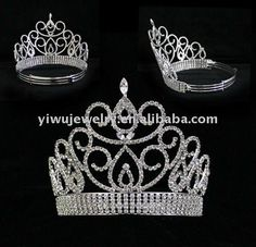 2012 Hot Selling Wholesale Pageant Crowns And Tiaras $5~$30