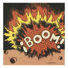 Boom! Posters by Pop Ink - CSA Images at AllPosters.com  40 x 40