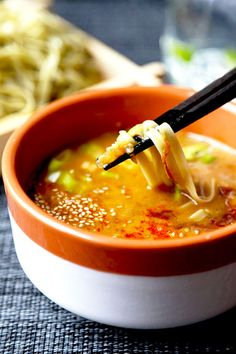 Spicy Miso Tsukemen (Dipping Noodles) - Pickled Plum Food And Drinks
