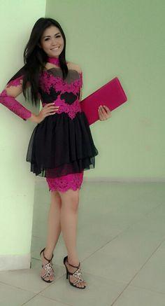Black pink...