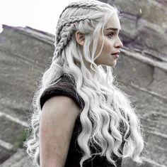 Daenerys Targaryen + braids
