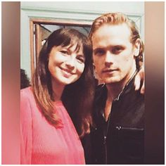 Sam and Cait from Voyager wrap party 2017