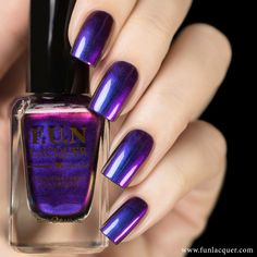 This electrifying polish of purples, blues, reds, oranges, yellows, and a little green to give your nails a lovely duochrome finish. Fully opaque in 2-3 coats! Collection: New Year 2015 Collection