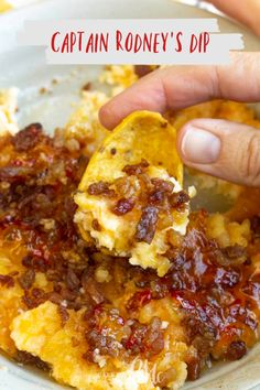 Captain Rodney's Dip is the ultimate party food. This outrageously good dip recipe is what every party, tailgate, and cookout needs! # Easy Recipes snacks 💥Captain Rodney's Dip anyone? Appetizer Dips, Yummy Appetizers, Appetizers For Party, Party Dips, Dip Recipes For Parties, Tailgate Appetizers, Best Appetizer Recipes, Dinner Recipes, Picnic Recipes