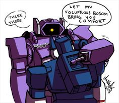 Shockwave you're so considerate lol