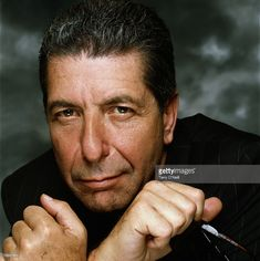 Canadian singer-songwriter Leonard Cohen, circa 1990. (Photo by Terry O'Neill/Getty Images)