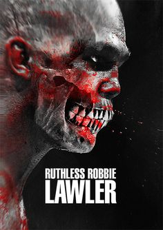 """""""Ruthless"""" Robbie Lawler as a Zombie : if you love #MMA, you'll love the #UFC & #MixedMartialArts inspired fashion at CageCult: http://cagecult.com/fitness"""