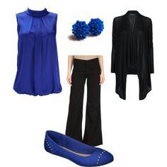Cobalt blue wear to work