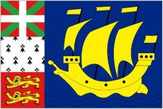 x St Pierre and Miquelon Flag France French Island Flags Banner St Louis Gateway Arch, St Louis Skyline, Free Vector Download, Cross Flag, France Flag, St Louis Rams, Custom Flags, St Pierre And Miquelon
