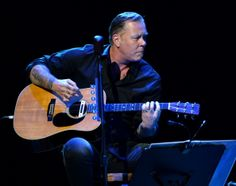 James Hetfield performs onstage at the 10th annual MusiCares MAP Fund Benefit Concert to raise funds for MusiCares' addiction recovery resources at Club Nokia on May 12, 2014 in Los Angeles, California.
