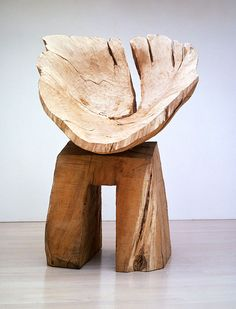 "artpropelled: "" Mizunara Bowl by David Nash """
