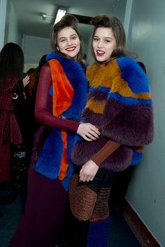Roksanda Fall 2015 RTW Backstage – Vogue