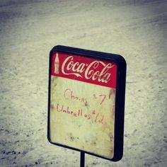 Coca Cola on Lido Beach, FL
