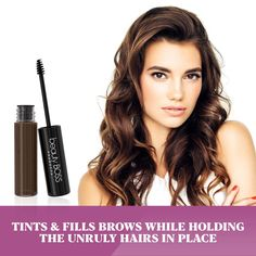 Long lasting waterproof colored brow gel effortlessly creates the appearance of fuller and thicker brows. Long-lasting Tinted Dark Brown Brow Gel Brow Tutorial, Indie Makeup, Best Eyebrow Products, Beauty Products, Makeup Pictorial, Thick Brows, Concealer For Dark Circles, How To Color Eyebrows, Beauty Shoot