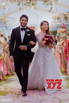 Naga Chaitanya Samantha's Christian Wedding Still - Social News XYZ
