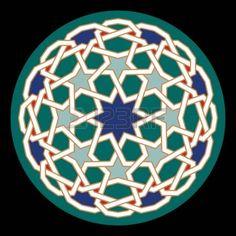 architecture arabic: Dise?o ?rabe tradicional Vectores