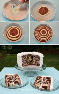 No recipe for this cake. Just a picture to show creative cake baking idea!!