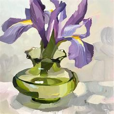 Teddi Parker Gallery of Original Fine Art Iris Painting, Oil Painting Abstract, House Painting, Art For Art Sake, Easy Paintings, Fine Art Gallery, Oeuvre D'art, Watercolor Flowers, Painting Inspiration