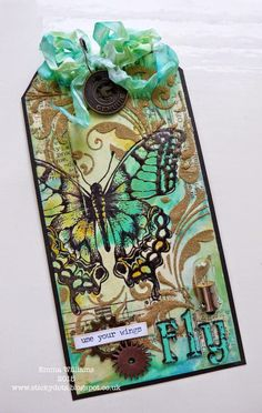 Use Your Wings ~ Tim Holtz 12 Tags of 2015