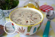 Mercimekli Erişteli Yoğurt Çorbası Tarifi - Malzemeler : 1 su bardağı yeşil mercimek, 1 su bardağı erişte, 3 tepeleme yemek kaşığı yoğurt, 1 yumurta sarısı, 1 yemek kaşığı tereyağı, 1 yemek kaşığı zeytinyağ, 1 yemek kaşığı un, 2 tatlı kaşığı nane, 8 su bardağı sıcak su, Tuz.