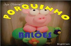 Como fazer Porquinho de Balões(Tema Fazendinha)