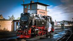 steam locomotive - locomotive, track, steam, train