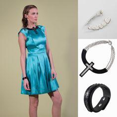 Shine it easy Outfit Seta e tessuti preziosi senza rinunciare a linee minimal e geometrie essenziali
