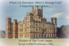 I am a Downton Abbey Superfan. SUPER. FAN. I've watched the show from it's inception and it's a safe assumption that on Sunday evenings in January, I can be found, drinking wine tea and speaking...http://keeperofthefruitloops.com/2014/10/downton-abbey-superfan.html/