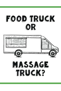 Like the food truck trend takes food mobile, the massage-truck industry brings healthy touch to festivals, neighborhoods, rodeos and everything in-between. Massage Quotes, Massage Tips, Massage Benefits, Baby Massage, Massage Techniques, Health Benefits, Massage Therapy Rooms, Mobile Massage Therapist, Massage Room
