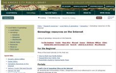 #Genealogy resources on the Internet http://www.kclibrary.org/?q=kchistory/genealogy-resources-internet