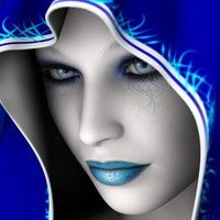 Bildresultat für Farbspritzen-Goldfrau - Faces a touch of color - Painting Boy Color Splash, Color Pop, Love Blue, Blue And White, L Cosplay, Fantasy Girl, Something Blue, Electric Blue, Beautiful Eyes