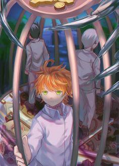 [Yakusoku no Neverland] {The promised Neverland} ~Imagenes All Anime, Manga Anime, Anime Art, Hinata, Anime Group, Another Anime, Drama, Manga Games, Kawaii