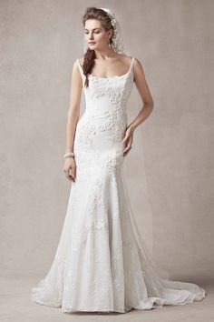 Wedding gown by Melissa Sweet for David's Bridal