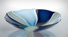 Tessera Bowl: Nicholas Kekic: Art Glass Bowl | Artful Home