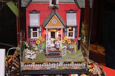 Mary Engelbreit Dollhouse - Exhibits at the Seattle Miniature Show March 7-8, 2015 - Seattle Miniature Show