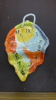 Dali melting clock by student