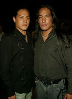 Michael Spears and Eddie Spears:    Crystal find me room mates that look like this.!