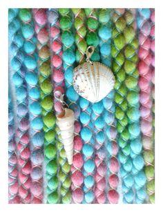 """Weiteres - 8 DE Mermaid Wooldreads """"Marshmallow"""" - ein Designerstück von Katinka-Dreads bei DaWanda"""