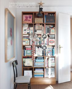 O apartamento de Carolina Herrera Jr. books, books, books!