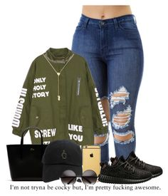"""""""Yeezy Contest"""" by royal-t-1 ❤ liked on Polyvore featuring adidas, Jennifer Zeuner, Lacoste, Goldgenie, cute, GREEN and yeeezys"""