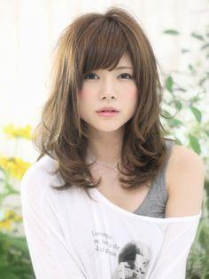 大人かわいいゆるふわセミディ♪ Japanese Haircut, Prity Girl, Pretty Asian Girl, Hair Arrange, Woman Face, Portrait Photography, Hair Cuts, Hair Color, Hair Beauty