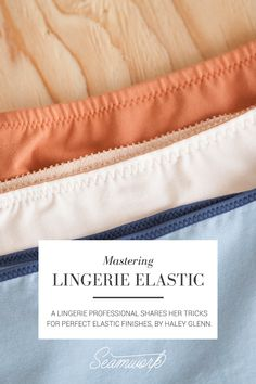 Easy sewing hacks are available on our site. look at this and you wont be sorry you did. Lingerie Design, Lingerie Patterns, Sewing Lingerie, Lingerie Dress, Dress Patterns, Sewing Hacks, Sewing Tutorials, Sewing Tips, Diy Clothing