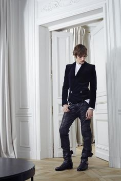 Balmain F/W 2012. This is one of the sexiest menswear collections I've seen.