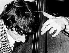 Jack Bruce playing double bass