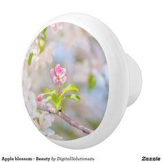 Apple blossom - Beauty Ceramic Knob